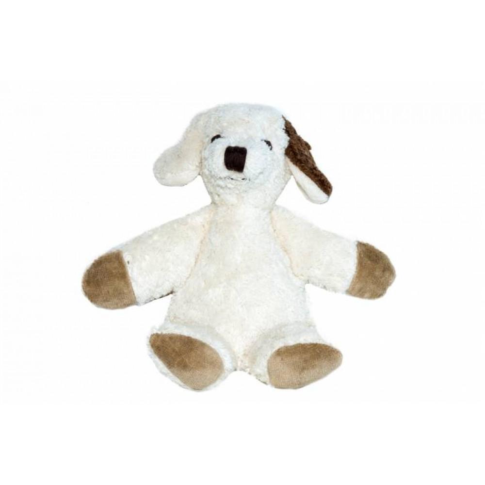 Kallisto - økologisk bamse - lille hvid hund