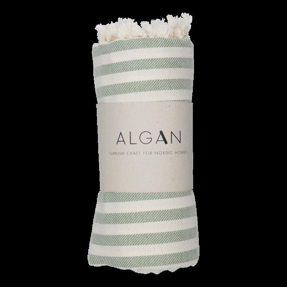 Algan - Kavun badehåndklæde - 85x180 cm. - olive