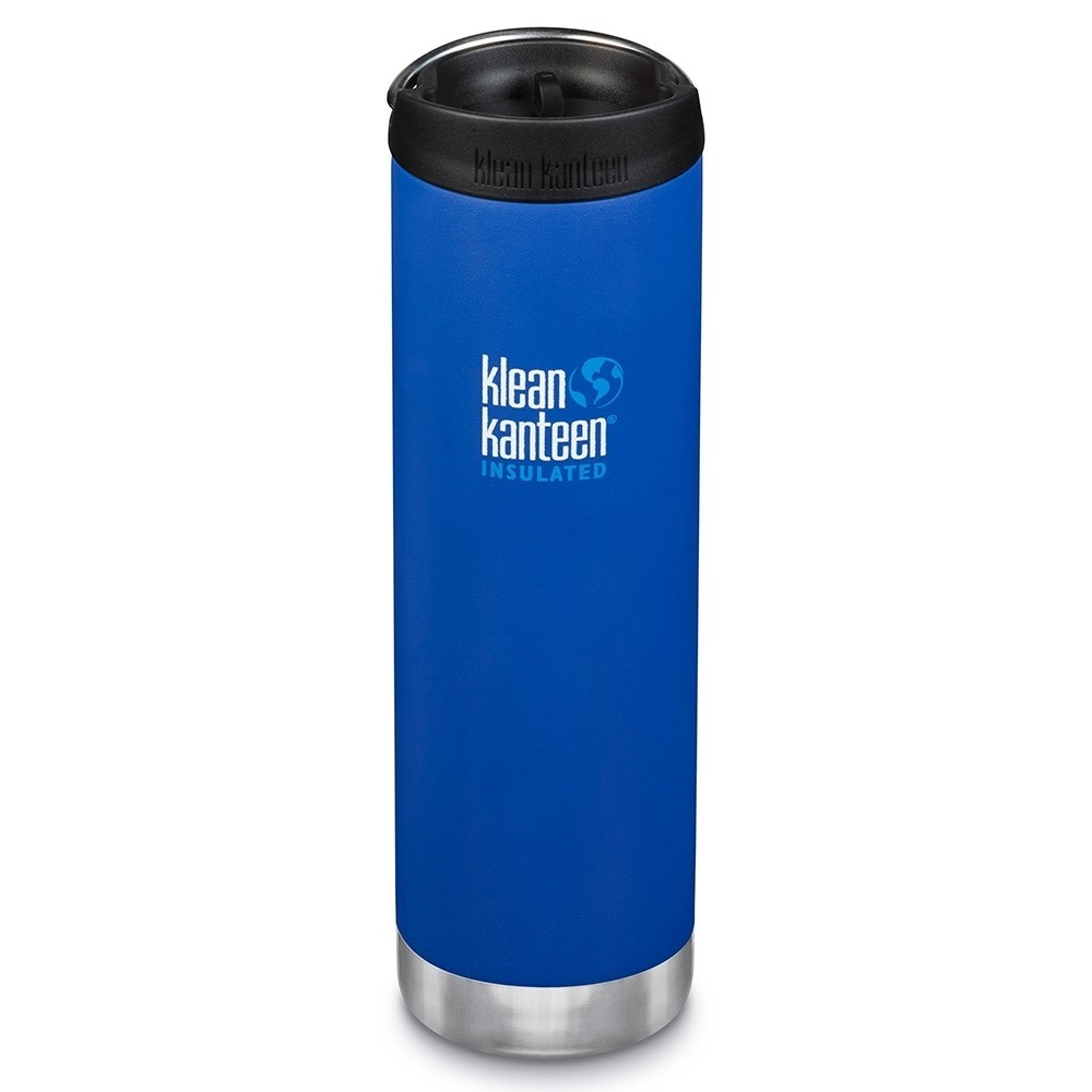 Klean Kanteen - TKWIDE- termoflaske 592 ml. - café cap - deep surf