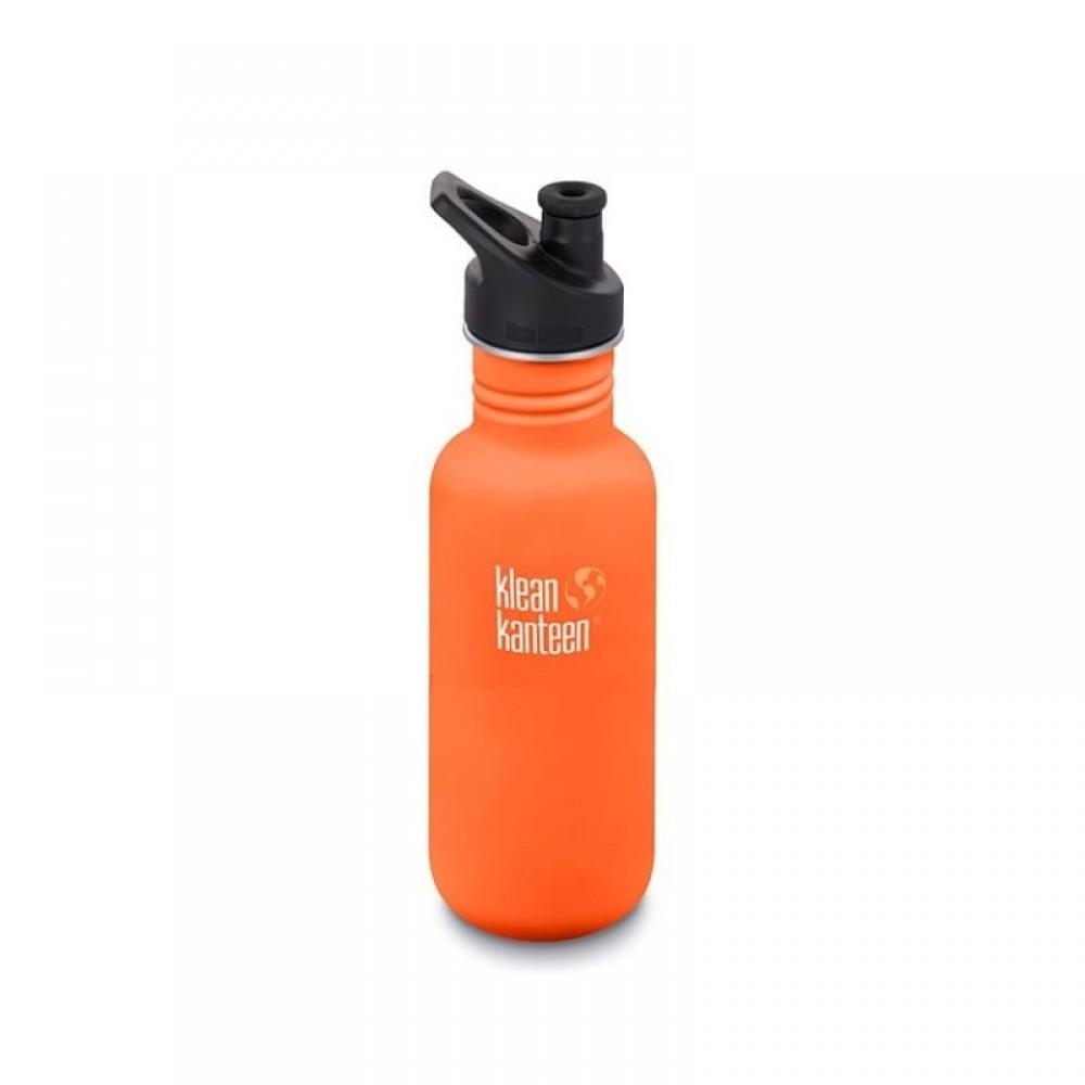 Klean Kanteen - 532 ml. - drikkedunk - sierra sunset - sportscap
