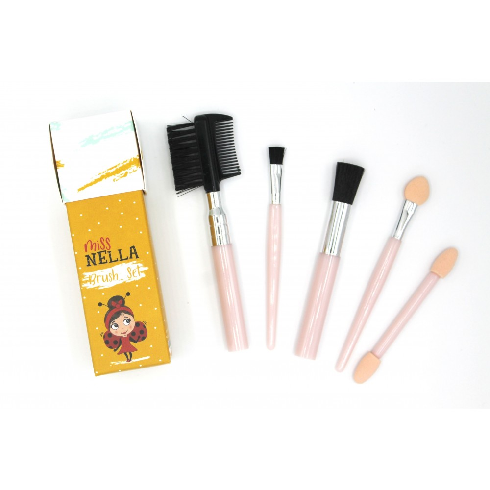 Miss Nella - brush set - 5 dele