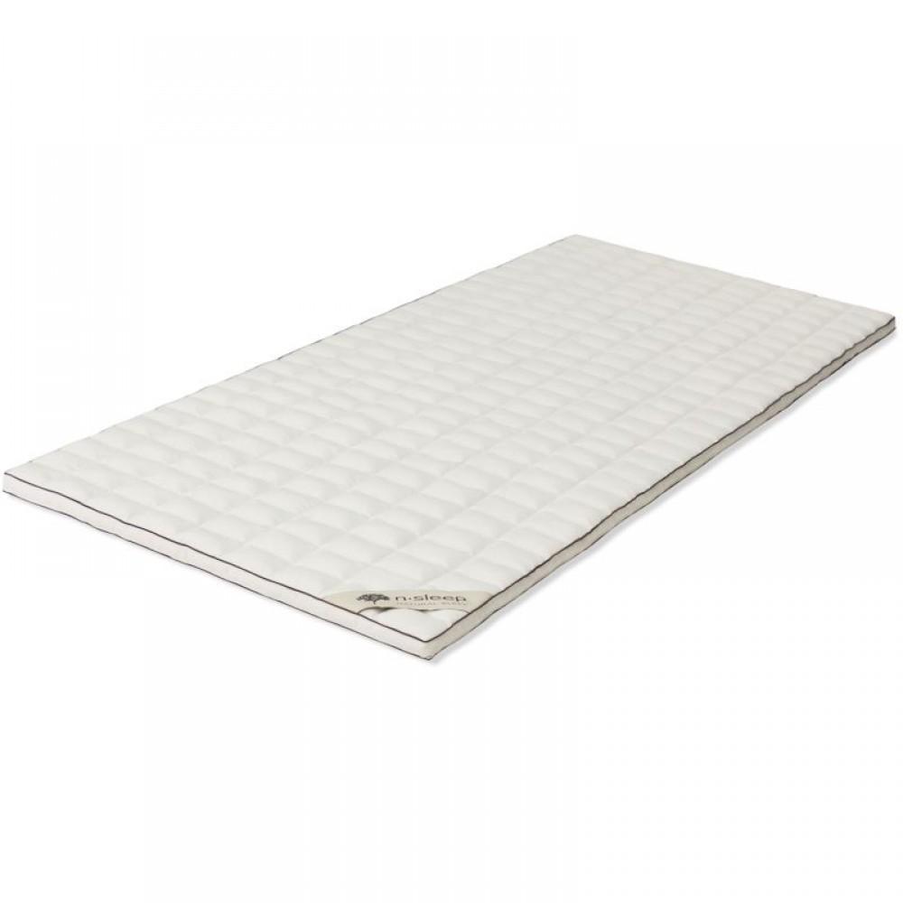 N-Sleep - kapok topmadrasser - flere størrelser
