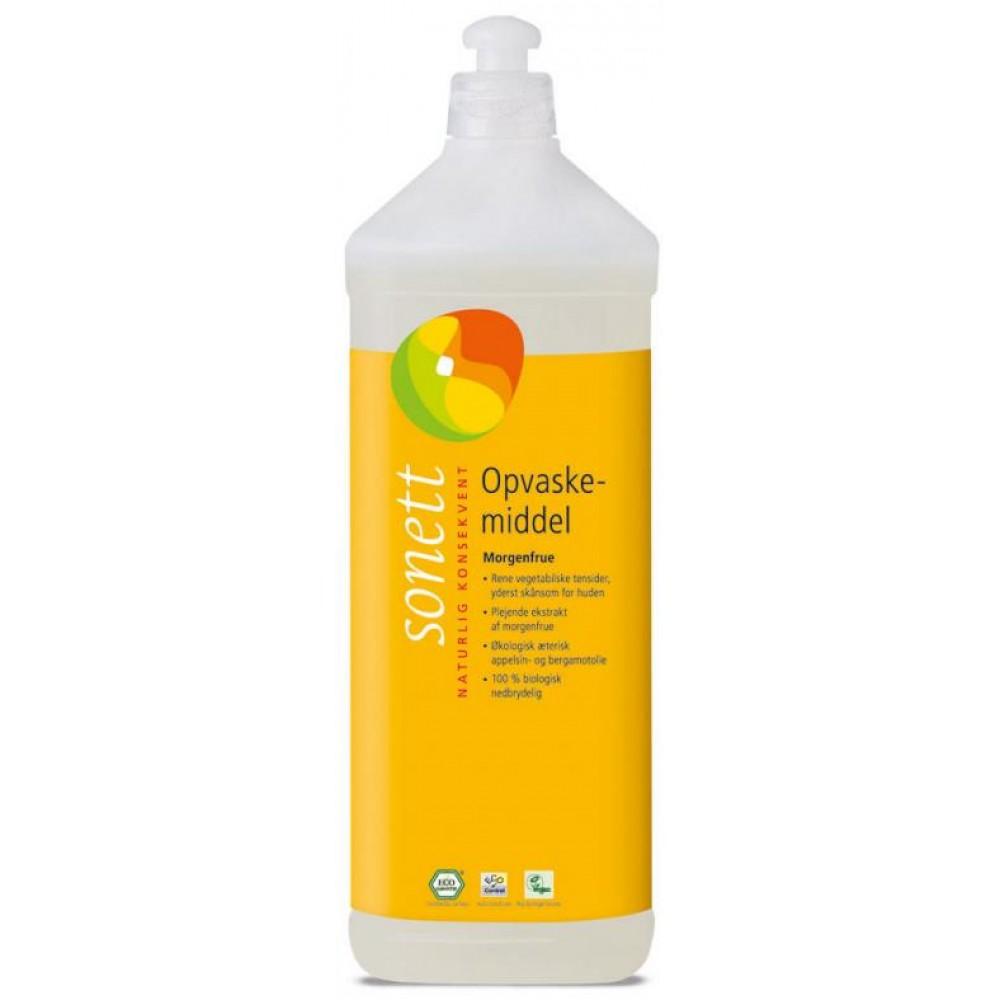 Sonett - opvaskemiddel - morgenfrue - 1 liter