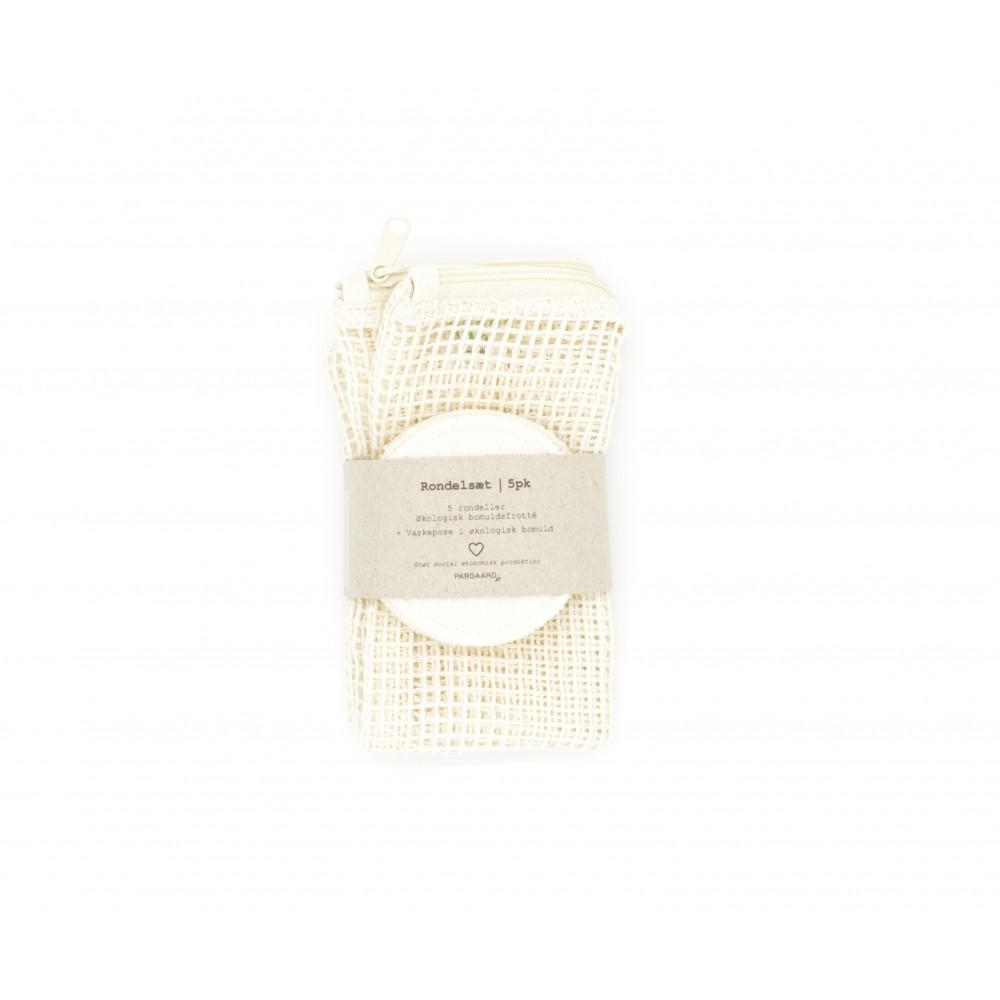 Pargaard - økologisk vaskepose og 5 stk. øko-rondeller