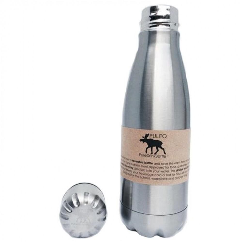 Pulito - drikkeflaske med termoeffekt - 500 ml.