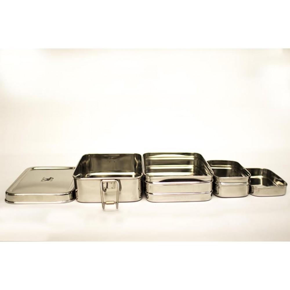 Pulito madkasse i stål 3-i-1 ekstra stor-01