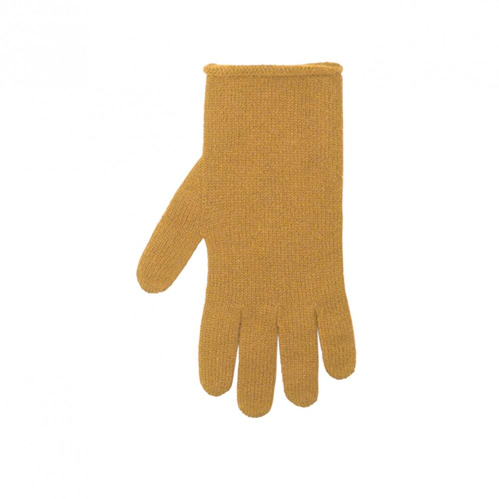 Pure Pure - fingerhandsker - merinould & kashmir - amber