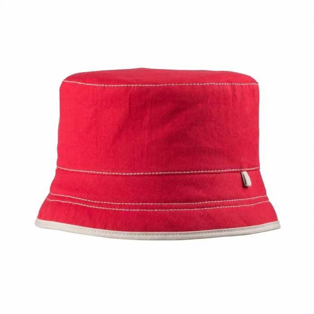 Pure Pure - bøllehat med solfaktor 80 - rød