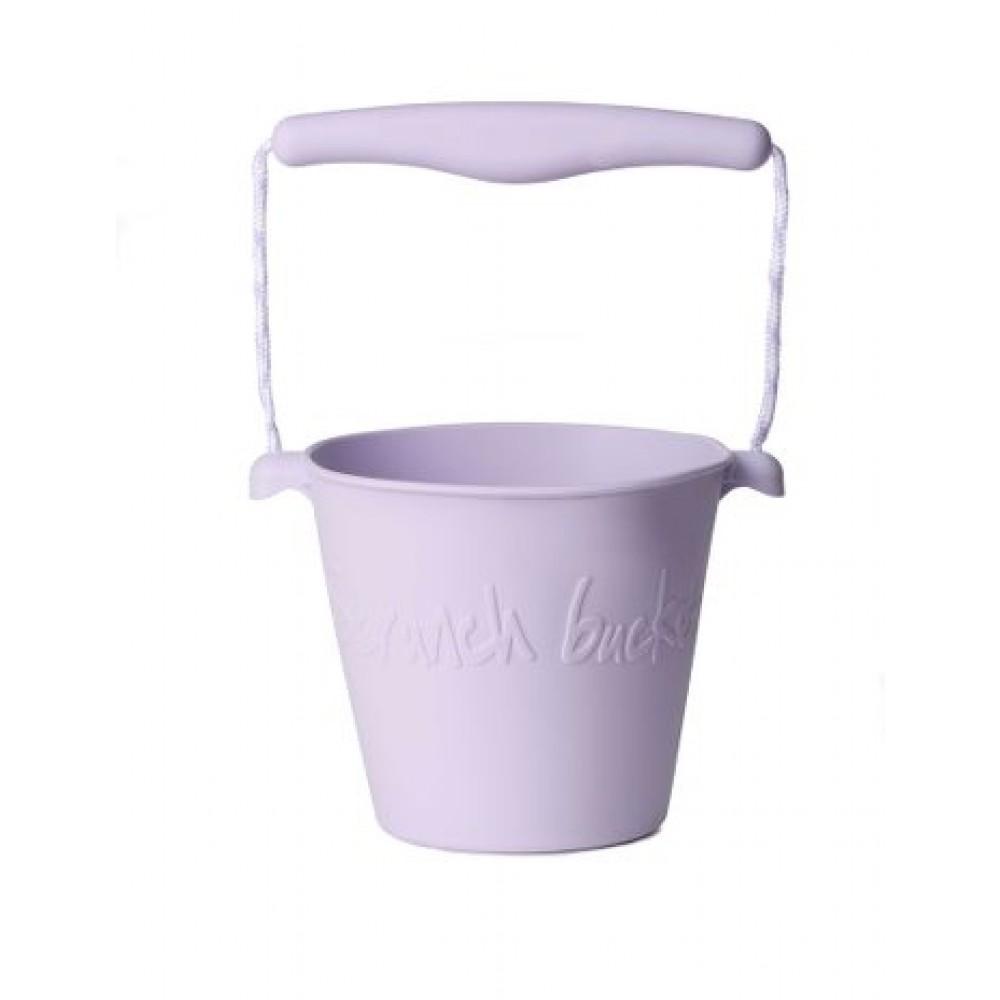 Funkit World - Scrunch-bucket - foldbar spand -Støvet lilla