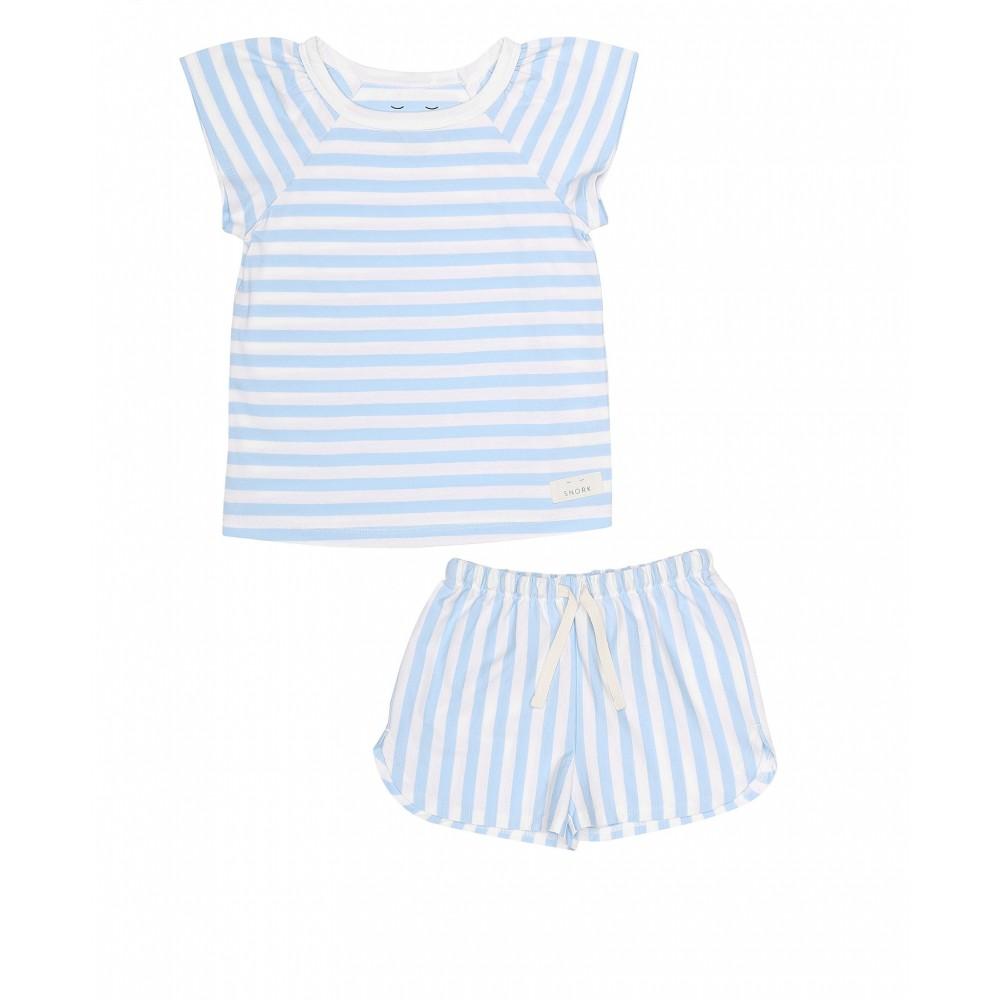 Snork Copenhagen - SELMA pyjamas - seastripes