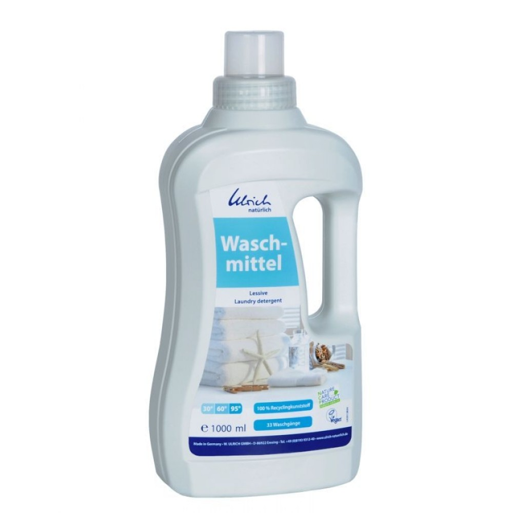 Ulrich - økologisk & vegansk flydende vaskemiddel - 1 liter