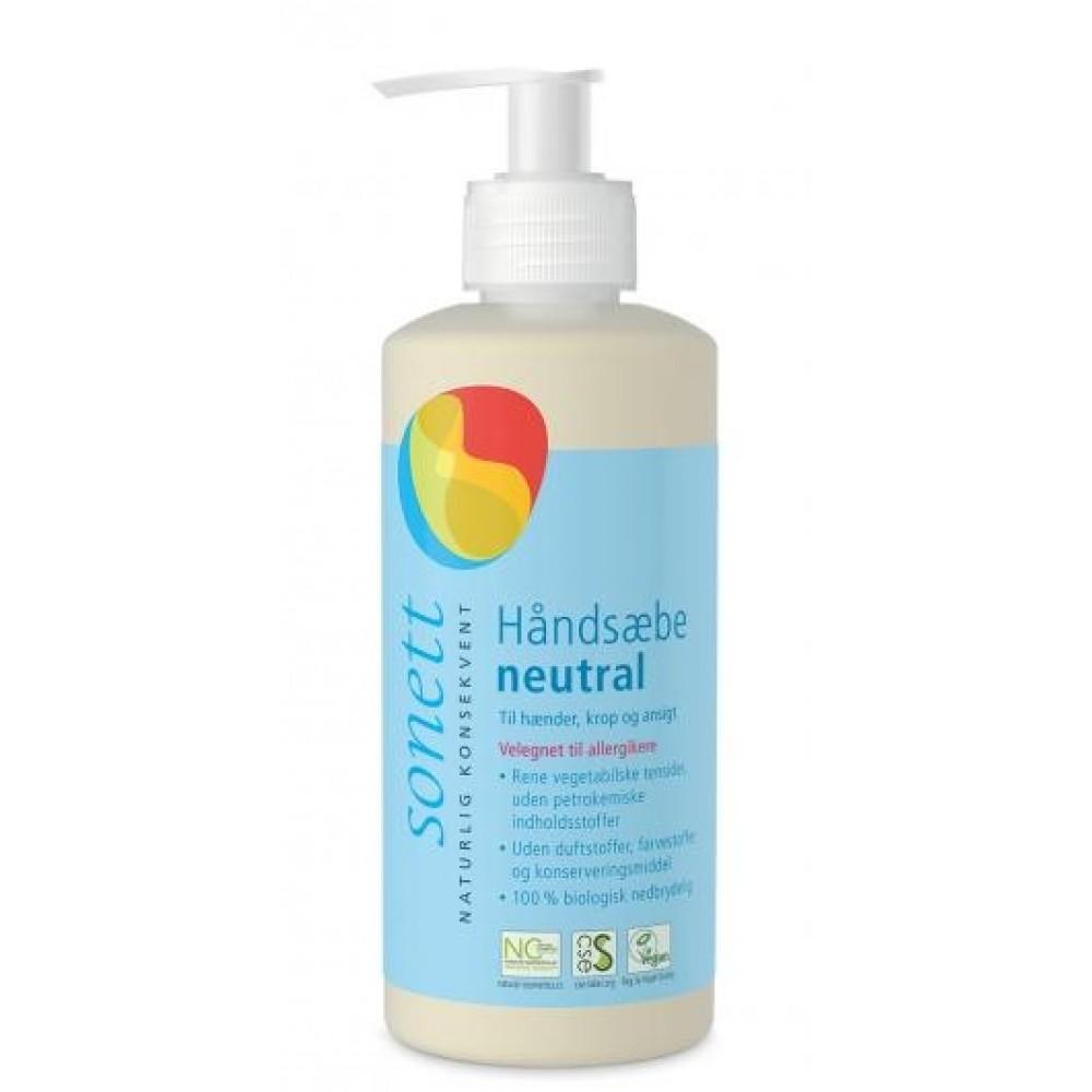 Sonett - flydende håndsæbe - natur - 300 ml.