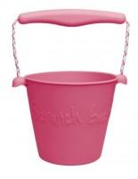 Funkit World - Scrunch-bucket - mange farver-Hindbær