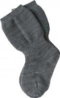 Grödo - tynd demeter uldstrømpe - grå