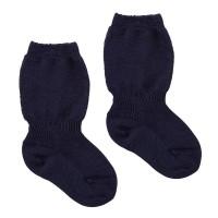 Grödo - tynd demeter uldstrømpe - marineblå