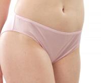 Alkena - trusser - økologisk silke - sart rosa