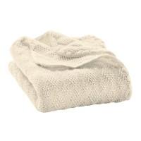 DISANA - babytæppe økologisk uld - natur