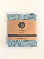 By Lohn - all round cloth - 25x25 cm. - 2 stk. - powder blue