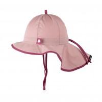 Pure Pure - solhat - legionær - rosa med cherise kant