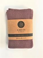 By Lohn - all round cloth - 30x30 cm. - 2 stk. - twilight mauve