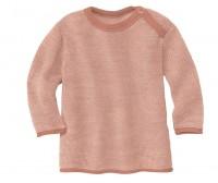DISANA | striktrøje | rosé/natur