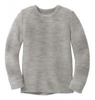 Disana - left-knit-pullover - grå