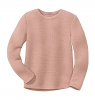 Disana - left-knit-pullover - rosé