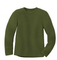 Disana - left-knit-pullover - olive