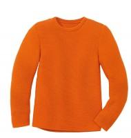 Disana - left-knit-pullover - orange