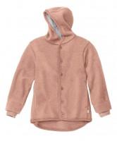 DISANA | uldjakke | kogt uld | rosé