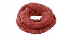 DISANA   tube halstørklæde   bordeaux/rosé melange