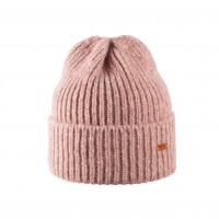 Pure Pure - hue til voksne - alpaca & bomuld - rosa melange