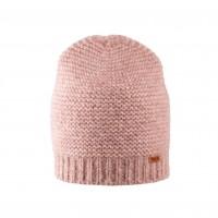 Pure Pure - beanie til voksne - alpaca & bomuld - rosa melange