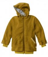 DISANA - helårsjakke i uld - gold - fåes helt op til str. 152