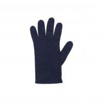 Pure Pure - fingerhandsker - merinould & kashmir - marine