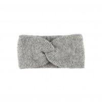 Pure Pure - hårbånd - alpaca & bomuld - grå melange
