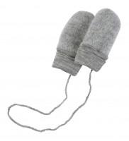 Engel | babyvanter i uldfleece | grå - one size