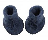 Engel | futter i uldfleece | blå melange