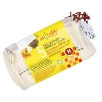 Ah! Table! - stofpose - økologisk bomuld - 5 stk. - M
