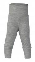 Engel - babybukser - uld & silke - grå