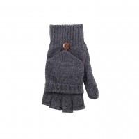 Pure Pure - korte fingerhandsker - uld - antracitgrå