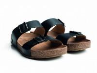 Haflinger - sandaler - Bio Andrea - sort