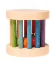 Grimms - rangle - hjul med perler og klokke