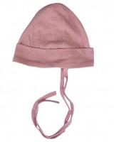 Alkena - hue - bourette silke - støvet rosa