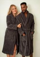 Bo Weevil - badekåbe voksen - unisex - antracit