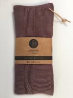 By Lohn - all round towel - 35x50 cm. - 1 stk. - twilight mauve