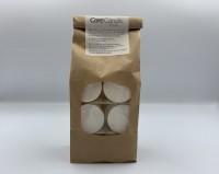 Care Candle - rapslys - hvid - fyrfadslys - 18 stk.