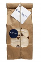 Care Candle - soyalys - hvid - fyrfadslys - 18 stk. - refill