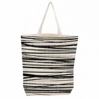 Bo Weevil - shopper - canvas - stripes