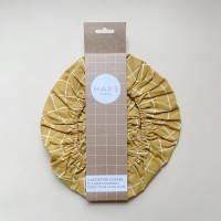 Haps Nordic - 3-pak cotton covers - mustard check